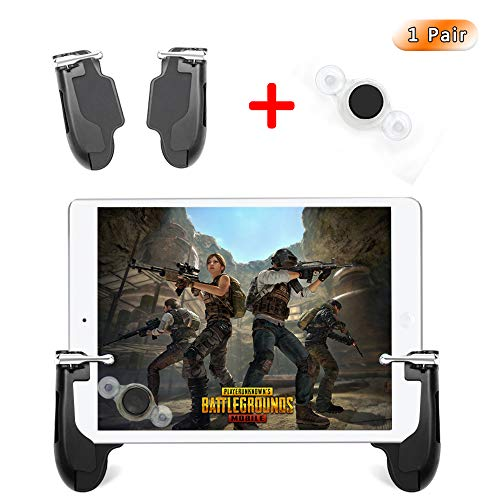 Takyu Mobile Game-Controller für iPad, PUBG Mobile Controller mit Game Joystick, L1R1 Sensitive Ziel und Shoot Gamepad Trigger für 4,5-12,9 Zoll Tablet & Android iOS Handy