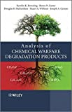 Analysis of Chemical Warfare Degradation Products by Karolin K. Kroening (2011-03-15)