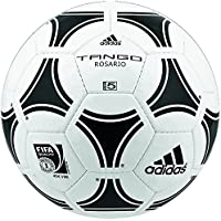 adidas 656927 Tango Rosario - Balón de fútbol de entrenamiento (talla 4), color negro y blanco