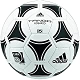 adidas Trainingsball Tango Rosario Soccer Ball, White Black, 3