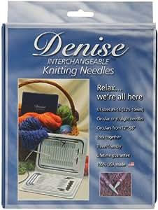 Denise Interchangeable Knitting Needles Kit-Blue