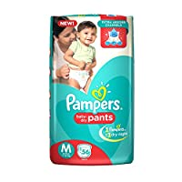 Pampers Medium Size Diaper Pants (56 Count)