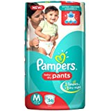 Pampers Medium Size Diapers Pants (56 Count)