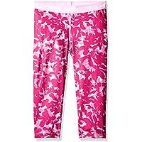 Under 1271020 Armour-Pantalón pirata de deporte para niña, color rosa talla XL (: YXL)