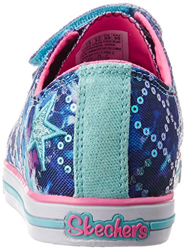 Skechers Chit Chat Lil Chatty Mädchen Sneaker Blau (BLMT)