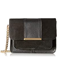 PIECES Damen PCMILIKA LEATHER CROSS BODY Tasche