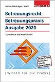 Betreuungsrecht-Betreuungspraxis Ausgabe 2020: Kommentar und Arbeitshilfen