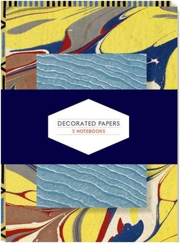 Decorated Papers: Set of 3 Notebooks (Thames & Hudson Gift) par P.J.M. Marks