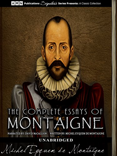 the complete essays of montaigne amazon The complete essays has 10,457 ratings and 329 amazon online stores montaigne inspires me the complete essays covers all kind of subjects and it is an.