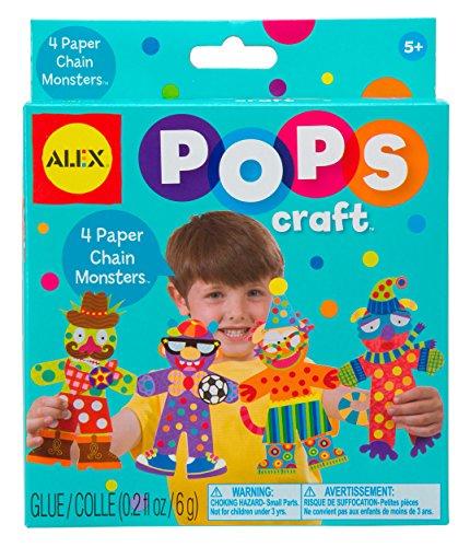 Alex Toys Papier Kette Monster Pops Craft (Monster Pop Kostüme)