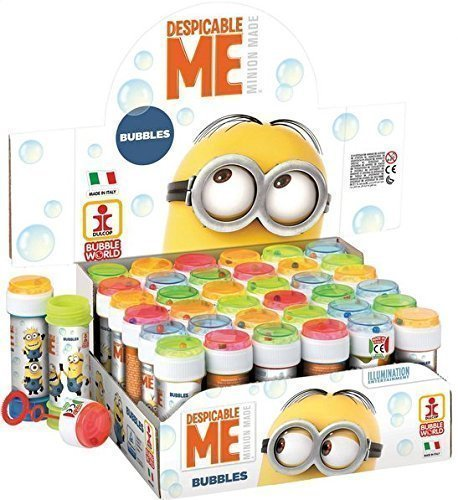 pf mit Jungen Mädchen Despicable Me Minion Bubbles Party Beutel Füller Garten Spiel Idee - 6 Blumentöpfe (Minion Party-spiele)