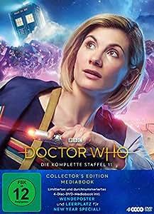 Doctor Who - Staffel 11 (Limitiertes Mediabook inkl. Wendeposter und Leerplatz für New Year Special) LTD. [4 DVDs]