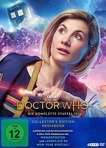 Doctor Who - Die komplette Staffel 11 (Limitiertes Mediabook, 4 Discs)