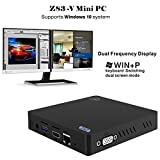 KODLIX Z83-V MINI PC Desktop x5-Z8350 Intel Atom 2GB/32GB 1000M/LAN Dual-band WiFi Bluetooth 4.0, Dual Frequency Display Support Windows 10