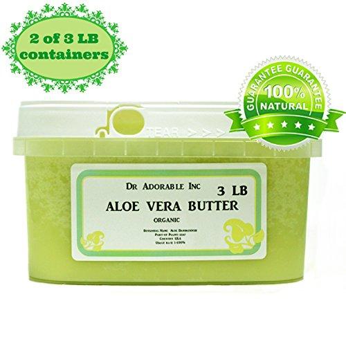 Aloe Vera Butter Pure Organic by Dr. Adorable 6 Lb