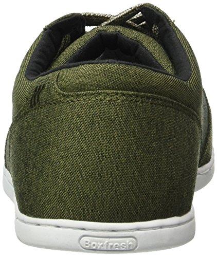 Boxfresh SPENCER SH 2TNYL, Sneakers basses homme Vert (Khaki)