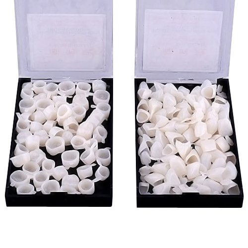 100pcs High Quality Dental Temporary Crown Veneers Material Anterior Front Back Molar Teeth by Bestdental by Best Dental