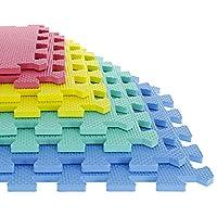 Foam Mat Floor Tiles, Interlocking EVA Foam Padding by Stalwart