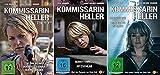 Kommissarin Heller: Teil 1-3 + Nachtgang/Verdeckte Spuren + Schattenriss/Hitzschlag (2 DVDs)