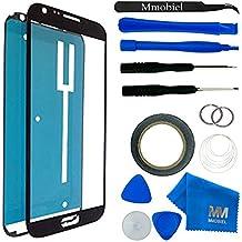 Kit de Reemplazo de Pantalla Táctil para Samsung Galaxy NOTE 2 N7100 i9220 Negro Incluye Pinzas / Cinta adhesiva 2 mm / Kit de Herramientas / Limpiador de Microfibra / Alambre Metálico / Manual de Instrucciones MMOBIEL