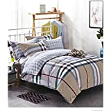 House Of Sensation King Super Poly Cotton Soft Touch Fitted Bedsheets Vivia Double Bedsheets 250 * 275cms King Size With 2 Pillow Covers Trend : All Season