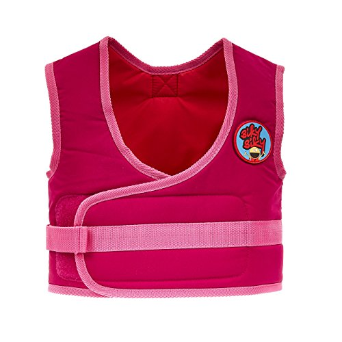 BikyBiky Kids Learn To Cycle Bike Geschirr Cycle Sicherheit Weste pink