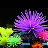 strimusimak Artificial Coral Plant Silicone Aquarium Fish Tank Decor Underwater Ornaments