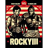 ROCKY BALBOA Movie inspired Boxing GYM Fitness Vintage Wall tin Plaque 20x15cm - Pub Shed Bar Man Cave Home Bedroom Office Ki