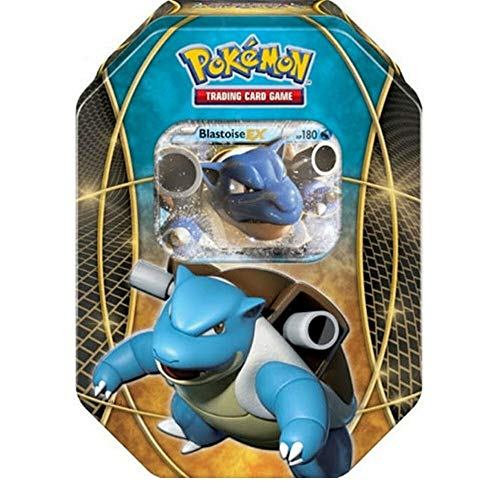 Lively Moments Pokemon Karten Tin Box Blastoise-EX EN Englisch Promo Trading Card Game / Metallbox
