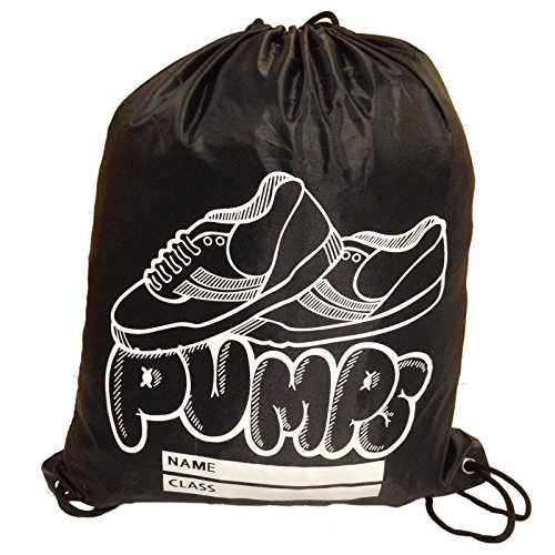 32f8d4fbad MyShoeStore Kids PE Bags Girls Boys Unisex Childrens School College Gym  Sports Bag P.E Dance Swimming Drawstring Sack Shoes Trainers Pumps Backpack  Bags