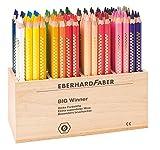 Eberhard Faber 518720 - Buntstifte Big Winner, 96 Stück  im Holzköcher
