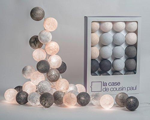Guirlande lumineuse 20 boules pour chambre d'enfant - La Case de cousin Paul - Brooklyn - 00706