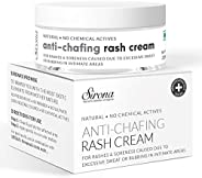 Sirona Natural Rash Cream - 25gm   For Chafing Due to Sanitary Pads, Heavy Thighs, Sports Activities, Waxing a