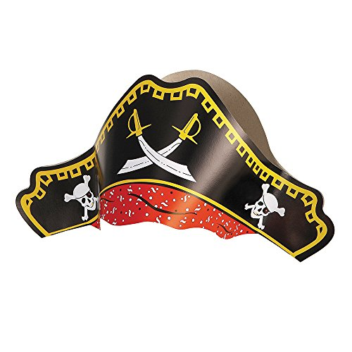 Paper Pirate Hats, Pack of 4 for sale  Delivered anywhere in UK