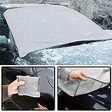 Protector magnético para parabrisas de coche, resistente a las inclemencias del tiempo