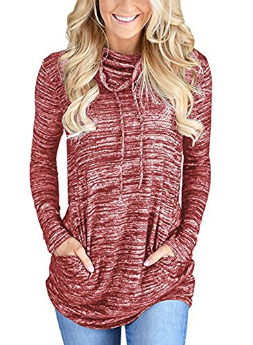 PENGSSTYLE -  Felpa  - Donna Red