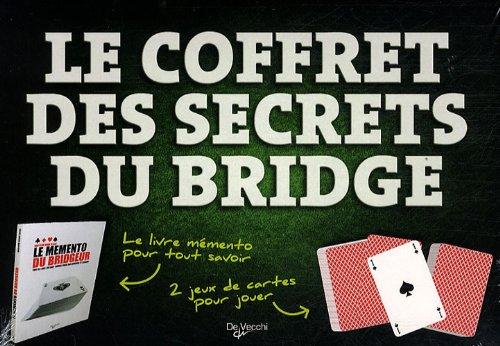 Le coffret des secrets du bridge par De Vecchi