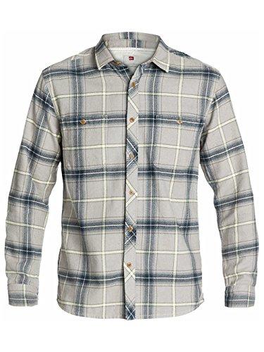 quiksilver-mens-the-flannel-woven-shirt-medium-gravel
