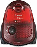 Bosch BGL2B1108 GL-20 Bag & Bagless - Aspirador con bolsa, 700 W, filtro higiénico, color rojo transparente