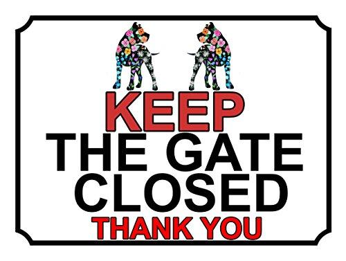 SHAWPRINT halten Sie das Tor geschlossen Thank You, Blumenmotiv, 200x 267mm, 298h1l, 25,4cm x 20,3cm (Geschlossen Sie Tor Halten)