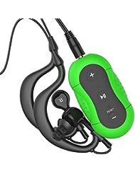 Aerb® 4G Wasserdichte MP3-Player für Schwimmen und andere Sportarten (IPX-8 Standard)