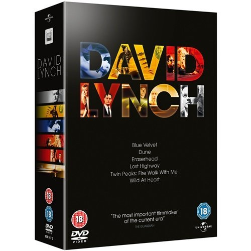 The Complete Davind Lynch Movie DVD Collection [7 Discs] Box set: Eraserhead / Dune/ Blue Velvet / Wild At Heart / Twin Peaks:Fire Walk With Me / Lost Highway + Bonus + Extras by Kyle MacLachlan Twin Hearts Wild