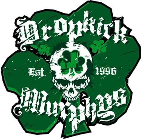 DROPKICK MURPHYS SHAM SKULL, Officially Licensed Original Artwork, Premium Quality, 4