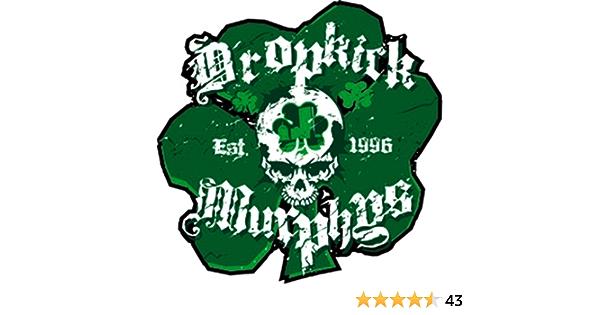 Dropkick Murphys Sham Skull Officially Licensed Original Artwork Premium Quality 4 X 4 25 Sticker Aufkleber Decal Auto