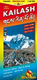 Kailash Trekking and Panoramic Map: Trekking Map Kailash 1:50000, Darchen 1:4000, Tibet 1:12 Mill. Bilingual Map: Tibetisch-Römisch. Legende: Engl., Dt., Ital., Franz., Tibet., Japan - Arne Rohweder