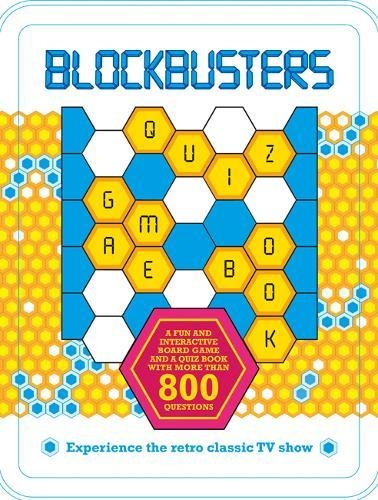 Blockbusters game board and quiz book