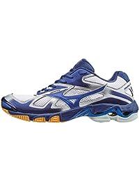 Mizuno Wave Bolt, Zapatillas de Voleibol para Hombre, Bleu/Jaune/Blanc