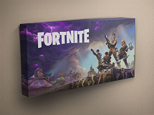 Fortnite Canvas Art Print