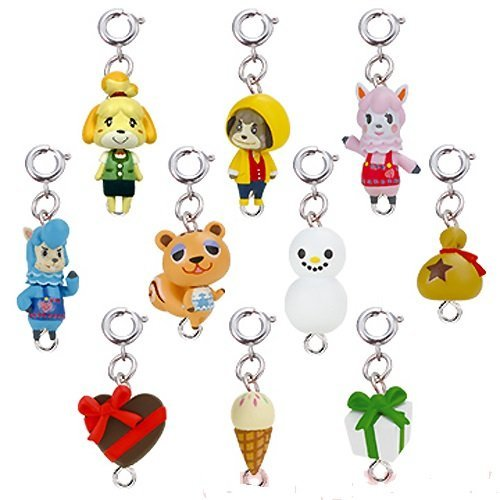 Takara Tomy Animal Crossing Jump Out New Leaf Mascot Collection Part2 Key Chain Figure -Set of 10