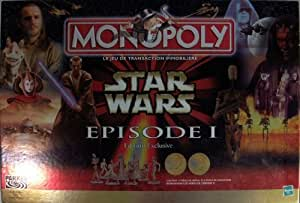 Hasbro - 40787 - Monopoly Star Wars Episode 1 - édition exclusive